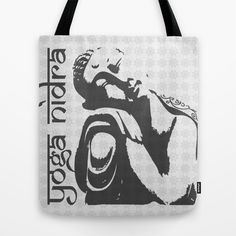 Yoga Nidra - Buddha Tote Bag (and Much more) by PS Lifestyle @Society6 - $22
