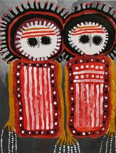 Am homesick so getting inspired by looking at so many of our talented Aussie artists  - Arbi Wandjinas ~ Artist: Jack Dale