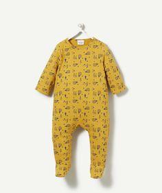 SLEEPSUIT GALOP OCRE, Sleepsuit - Pyjamas, children fashion | Tape à l'œil