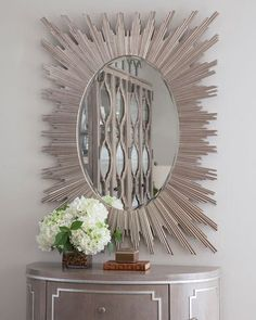 Shop Rouge Wall Mirror at Horchow, where you'll find new lower shipping on hundreds of home furnishings and gifts. Decor, Horchow, Butterfly Mirror, Wall, Home Decor, Remodeling Projects, Mirror Wall, Sunburst, Mirror