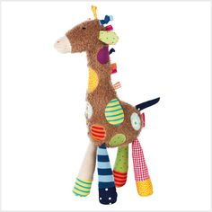 The charming giraffe from the sigikid Sweety collection combines cool colors and funny designs.Size: 14.2
