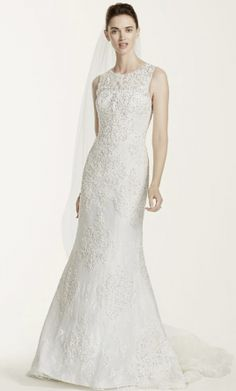 Oleg Cassini CWG667: buy this dress for a fraction of the salon price on PreOwnedWeddingDresses.com