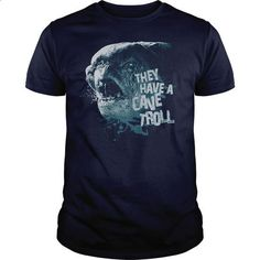 Lord Of The Rings - Cave Troll - #tshirt scarf #green sweater. PURCHASE NOW => https://www.sunfrog.com/Movies/Lord-Of-The-Rings--Cave-Troll-Navy-Blue-Guys.html?68278