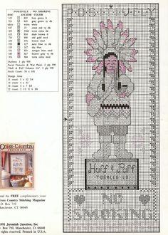 Tobacco Smoke 2/4 -- free cross stitch pattern