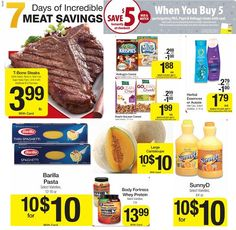 Modern Saver: Best Meat, Produce, Dairy, and More Deals This Week: Kroger, Aldi, Publix, Arlan's Market, Randalls, HEB, and Sedanos.
