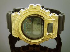 Men Casio G Shock 0.15ct Diamond Black Face Watch « Clothing Adds for your desire