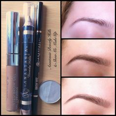 a simple natural-looking eyebrow tutorial