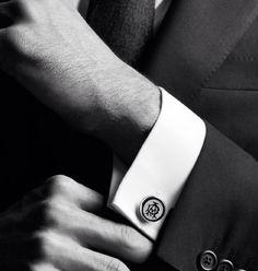 Alfred Dunhill Cufflinks...Todo homem deve ter um pouco desse estilo...Rsrs