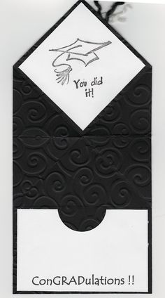 Handmade card inside