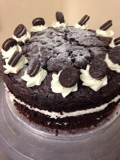 Oreo Sponge Cake
