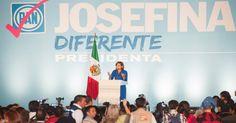 Josefina pide a mujeres manifestarse por la libertad de México