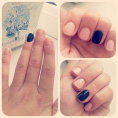 Black Onyx and naked nails