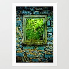 Window Art Print by Sara H. - $21.99