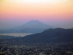 Volcán San Vicente and Lago Ilopango, Guatemala - by Lena Johannessen