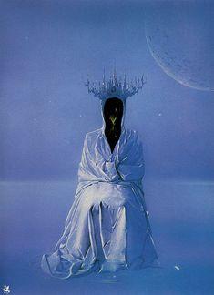 Surrealism and Visionary art: Wojtek Siudmak Art Science Fiction, Sci Fi Kunst, Art Visionnaire, 70s Sci Fi Art, Art For Art Sake, Visionary Art, Psychedelic Art, Surreal Art, Caricatures
