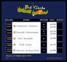 BetCreta: Europa League : Παιχνίδι φιλοξενούμενων !