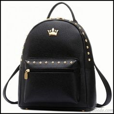 Lace Backpack, Laptop Backpack, Leather Backpack, Travel Backpack, Pu Leather, Studded Backpack, Cute Backpacks, Girl Backpacks, School Backpacks