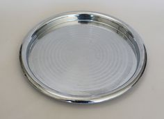 Chase Brass and Chrome Art Deco Tray Walter Von Nessen | eBay