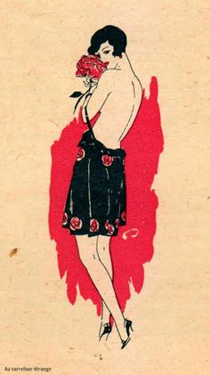 Black Celluloid | artist Fabius Lorenzi, c.1927 via Au carrefour...