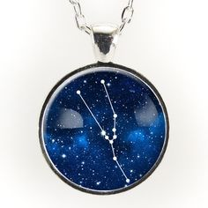 This necklace features the constellation Taurus! The Taurus zodiac sign is  for those born between e8ac1af70162c