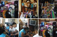 Rotaract Fill-a-Backpack Project