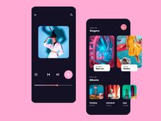 Music App by HaoWang on Dribbble⠀⠀⠀⠀⠀⠀⠀⠀⠀⠀⠀⠀⠀⠀⠀⠀⠀⠀⠀⠀⠀⠀⠀⠀ 🚀 Want to learn UX design from the best? Check the link in bio⠀… Web Design, App Ui Design, Mobile App Design, Dashboard Design, Flat Design, Graphic Design, Motion Design, Design Thinking, Music Website Templates