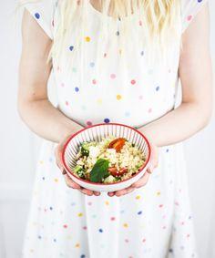Couscous-Salat ♡ perfekt zum Grillen  by http://titatoni.blogspot.de/