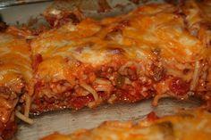 Momma Hawk Cooks: Baked Spaghetti