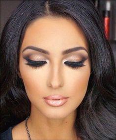 Smokey Bridal Eye Makeup For Dusky Skin