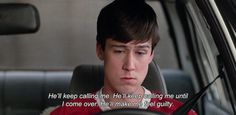 Convincing yourself to leave the house is an epic ordeal. | 28 Signs That Cameron Frye Is Your Spirit Animal