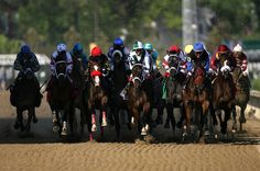 Kentucky Derby - Front Stretch