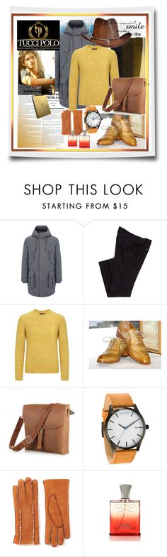 """""""TucciPolo 11"""" by ane-twist ❤ liked on Polyvore featuring MVMT, Joseph, Creed, vintage and sthash"""
