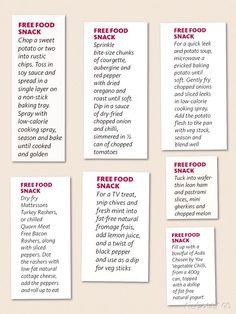 Slimming World Free Snacks Pinit Recepies Pinterest