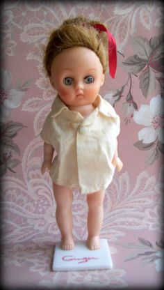 Vintage Ginger Doll by Cosmopolitan Toy by merrilyverilyvintage