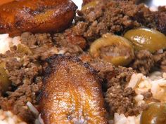 Piccadillo - Recipe courtesy Jose Baserva, Jose's Real Cuban Food - Show: Diners, Drive-Ins and Dives