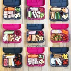 Lunchbox Ideas for PreSchoolers - with no boring sandwiches! Inspiration for more interesting pack ups for kids   https://www.tamingtwins.com