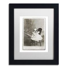 Dog Series #5 by J Hovenstine Studios Framed Graphic Art