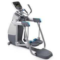 Buy the Precor AMT 885 with Open Stride Console from Fitness Superstore. the innovative and premium design of the Adaptive Motion Trainer (AMT) 885 takes fitness to a whole new level with the addition of the Open Stride feature. Gym Workouts, At Home Workouts, Fitness Exercises, Workout Fitness, Cardio Equipment, Fitness Equipment, Training Equipment, Voucher, Best Home Gym