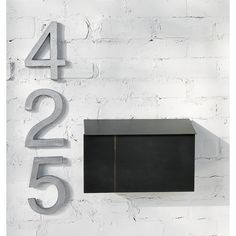 house numbers | CB2