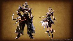 New Final Fantasy XIV: Heavensward screenshots, artwork detail new jobs, new race, flying mounts, more   Nova Crystallis