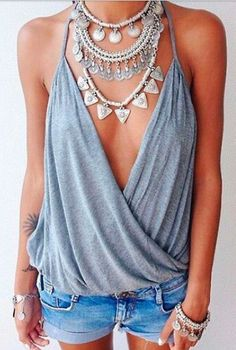 Love this. Really great style top. Like this paired with jewelry