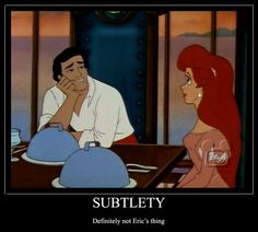 Oh prince Eric... :) definitely one of my absolute favorite princes, besides Flynn Ryder (Eugene)