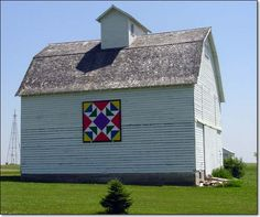 Early, Iowa Barn Quilt,  Just love this picture.