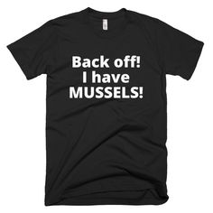 125d1accead461 Men s MUSSELS Short-Sleeve T-Shirt Made in USA