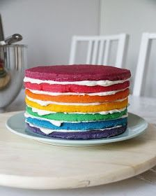 Cupcake - Bakery: Rainbow Cake Tassenkuchen - Bäckerei: Regenbogen-Torte 23 Source by synx Cake Mug, Cake & Co, Cupcake Bakery, Bakery Cakes, Pie Bakery, Cake Recipes, Dessert Recipes, Rainbow Food, Cake Rainbow