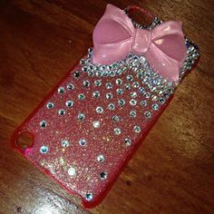 Bow iPod touch 5th gen case by ablingthing1 on Etsy