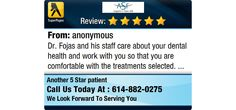 Dr. Fojas and his staff care about your dental health and work with you so that you are...