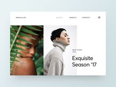 New Trend is Visual Design and Motion Design for the Web? Website Design Layout, Web Layout, Layout Design, Webdesign Inspiration, Web Inspiration, Design Thinking, Interaktives Design, Design Blogs, Design Ideas