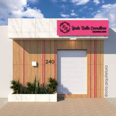 Beauty Room, Boutique, Showroom, Garage Doors, Logo Design, Studio Studio, Building, Outdoor Decor, Dental