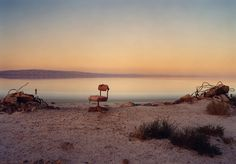 """Marcus Doyle, """"Red Chair"""" (date unknown), North Shores, Salton Sea, California Photography Essentials, Photography Articles, Clothing Photography, Photography Awards, Wildlife Photography, London Art Fair, Salton Sea, Photography Filters, Landscape Photographers"""